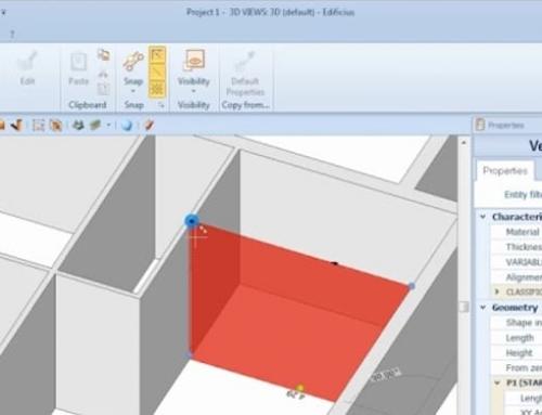 Wie man eine Gebäudehülle mit einer BIM-Software zeichnet