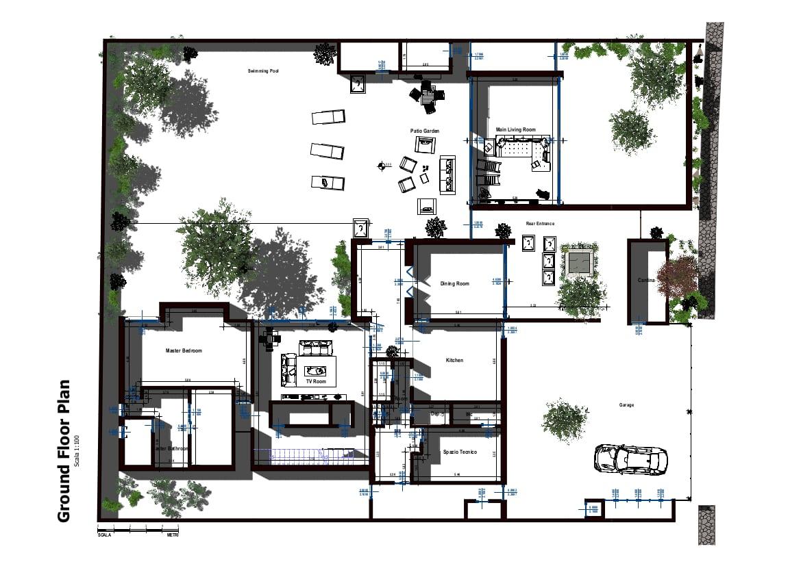 Ansicht vom Grundriss Casa Altabrisa24