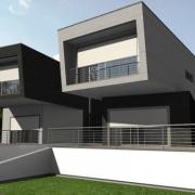 Wie BIM verwendet wird um ein Architekturprojekt zu erstellen 8i_front_view