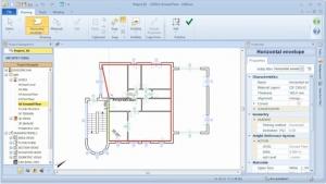 Erstellung Gebäudehülle Edificius Step 5