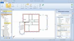 Erstellung Gebäudehülle Edificius Step 6