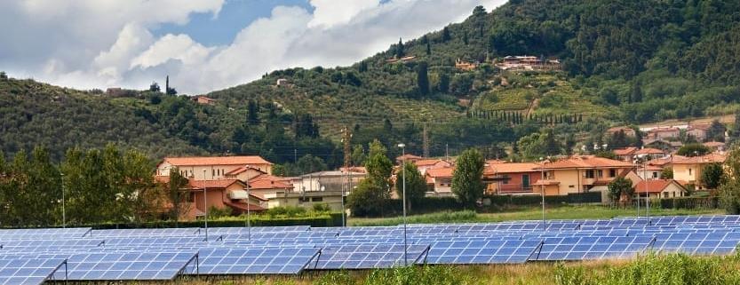 Projekt einer Photovoltaikanlage
