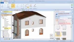 Zuweisen von Farbe oder Material auf einem anderen BIM-Objekt – Schritt 2