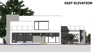 Ansicht Osten C-House_Edificius_BIM