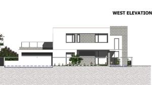 Ansicht Westen C-House_Edificius_BIM