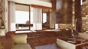 C-House Relax-Bereich multimedia_Edificius_BIM