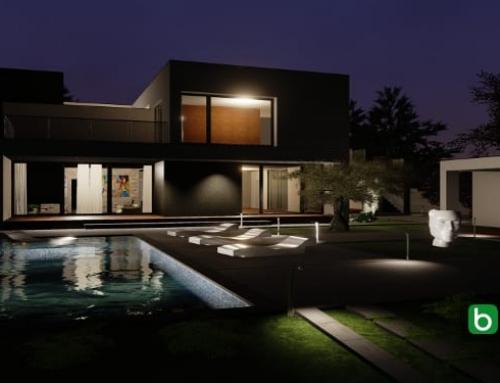 Das Projekt C-Haus mit einer BIM-Software für Architektur erstellt