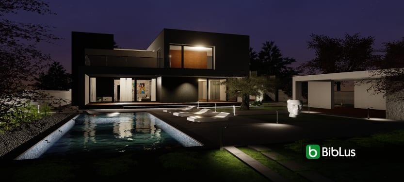 Projekt C-Haus mit einer BIM-Software