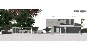 Schnitt A C-House_Edificius_BIM