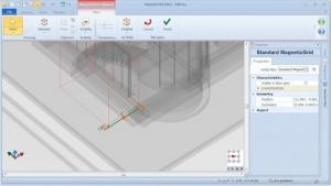 Personalisieren des MagneticGrids - BIM-Software Edificius