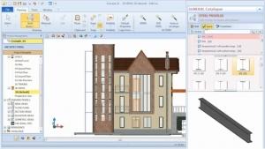 BIM-Objekt aus Bibliothek entnehmen - BIM-Software Edificius