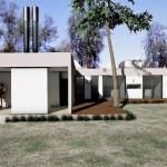 Rendering Casa Kaprys -Außen - Edificius