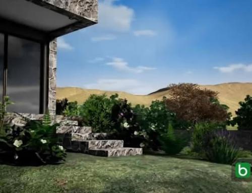 Geländemodellierung mit Höhenlinien in einer BIM-Software