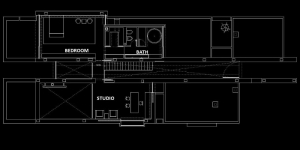 Camarines Grundriss Erster Stock