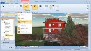 Werkzeuge der PlayStructure Ansicht