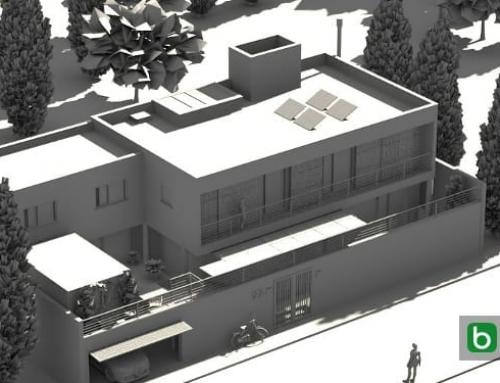 Erstellen eines Einfamilienhauses mit einer BIM-Software: Casa SJ