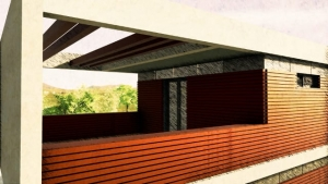 Details Terrasse - Casa Roncero