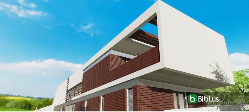 Casa Roncero, mit einer BIM-Software