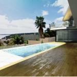 Terrasse und Pool mit Aussicht JC House
