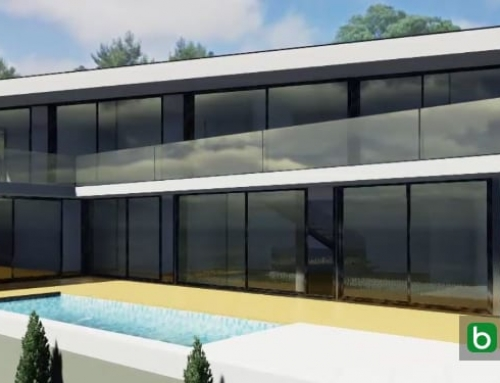 Casa JC, eine sehr originelle und moderne Villa, die mit einer BIM-Software entwickelt wurde