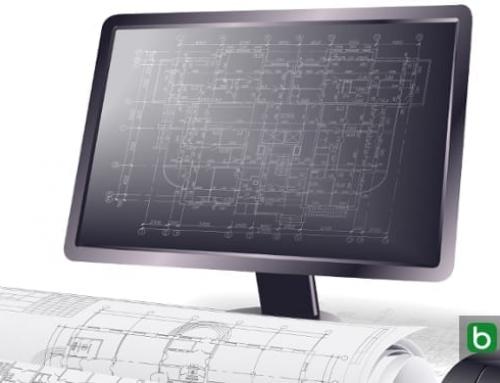 Architektonische Objekte und 2D-Grafikobjekte in einer BIM-Software