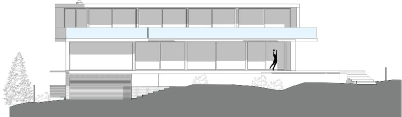 Mehrfamilienhäuser Matteotti-Dorfi – Ansicht -BIM-Software-Edificius