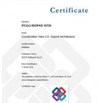 Edificius-Zertifikat für IFC-Export
