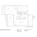 Grundriss Erdgeschoss Dulwich Residence