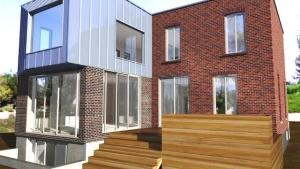 Hinterseite von Dulwich Residence