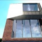 Verglasung des Living -und Relax-Bereichs von Dulwich Residence