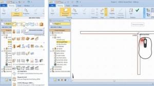 Auswahl und Einfügung der horizontalen Gebäudehülle_BIM-Software_Edificius