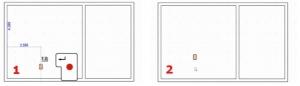 Beendigung der Abstandeinstellungen und automatische Erstellung der Stützen_Edificius