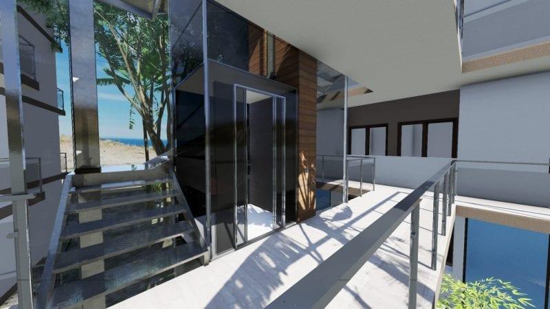 Aufzug-Nahil Kan Render mit Edificius erstellt