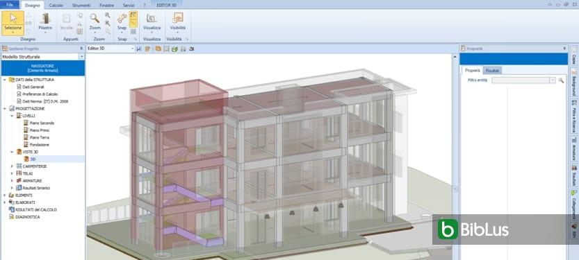 BIM-Kooperation architektonischen Entwurf und Tragwerksberechnung