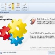 Wie man mit SketchUp erstellte 3D-Objekte in einer BIM-Software Edificius
