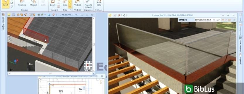 Wie architektonische Objekte in einem BIM-Projekt verwendet werden Edificius