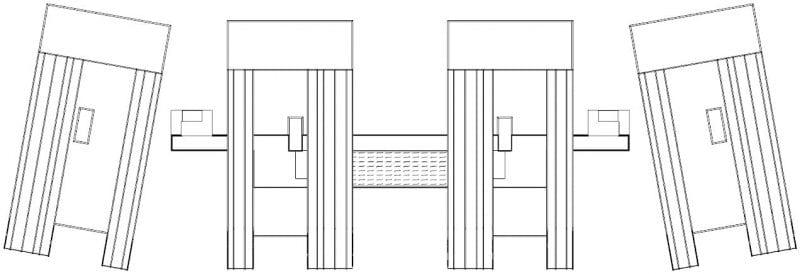 Grundriss der Struktur Nahil Kan