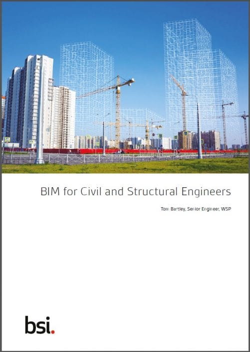 Buchumschlag, BIM for Civil and Structural Engineers
