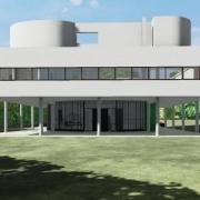 Villa Savoye mit einer BIM-Software entwerfen Edificius