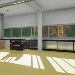 Detail des Langfensters_Villa Savoye_Edificius_BIM software