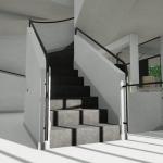 Innentreppe_Villa Savoye_Edificius_BIM software