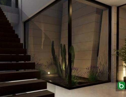 Realisierung einer Treppe in einem BIM-Projekt: Marble&Bamboo