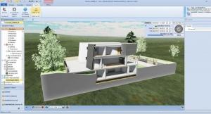 Teilen-Dreidimensionale Schnittzeichnung-Edificius-VR
