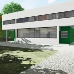 Ansicht des Langfensters_Villa Savoye_Edificius_BIM software