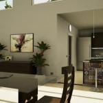 Küche-Speisezimmer_rendering_software BIM_Edificius