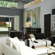Wie man Renderings der Innenräume mit einer BIM-Software optimiert Edificius