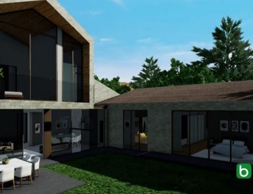Wie man ein Einfamilienhaus mit einer BIM-Software entwirft: LPZ House