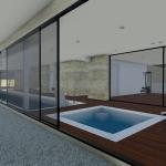 Entspannungsbereich und Fitnessraum