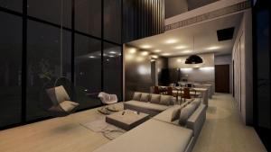 Möbel Living-Bereich - Render - Architectural BIM software - Edificius