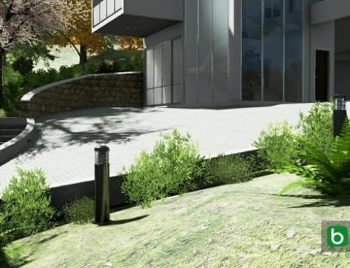 Eine Außentreppe mit einer BIM-Software erstellen